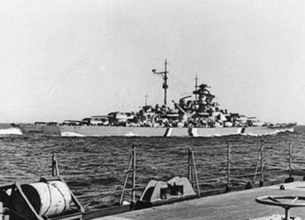 kapal perang jerman